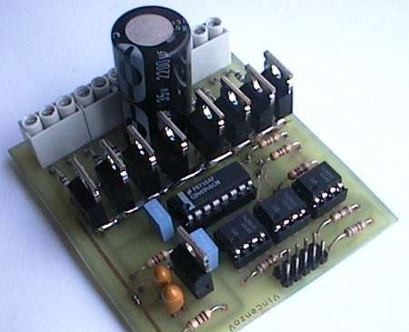 Step driver for Ti stepper motor driver