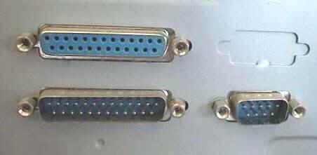 La piedinatura del connettore rs 232 del pc - Tipi di porta ...